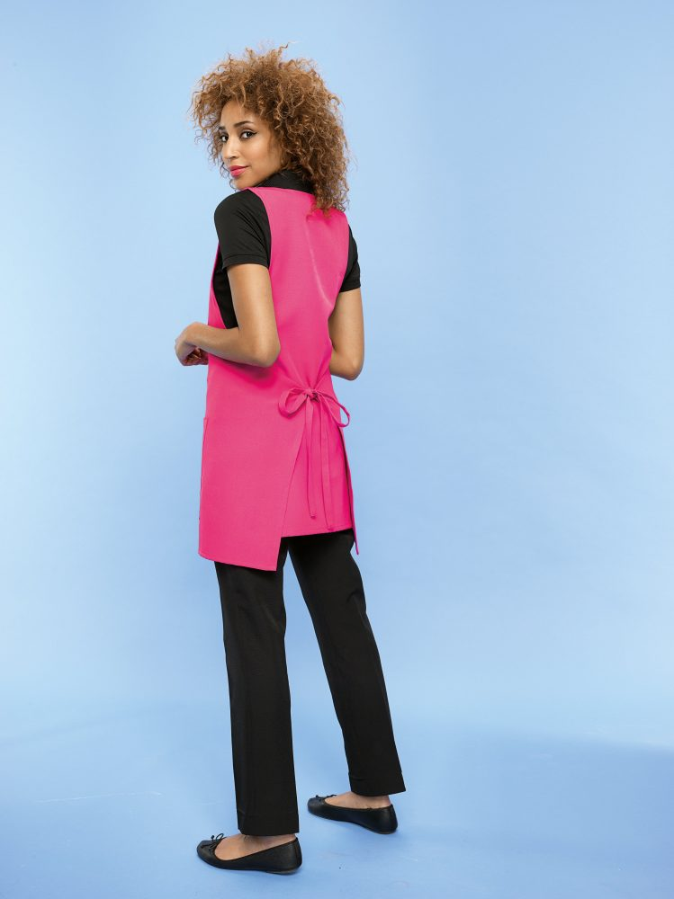 Fuchsia tunic tabard from Russums